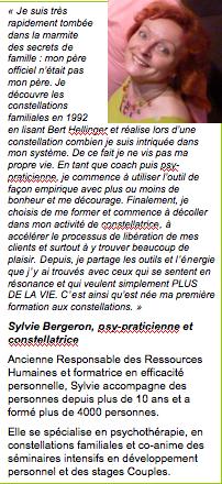 formation aux constellations familiales,bert hellinger,2014,périgeux